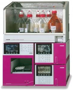 Fully automated amino acid analyser