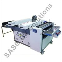 Roller Coater With Uv Dryer