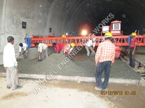 Concrete Road Paver Machine