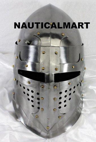 Medieval Great Bascinet Armor Helmet