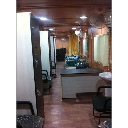 Mobile Hospital Cabin