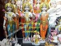 Lord Ram Darbar Marble Sculpture