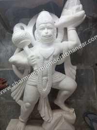 Lord Hanuman Marble Sculpture