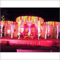 Wedding Stage Balloon Decoration