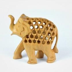 Jali Wooden Elephant