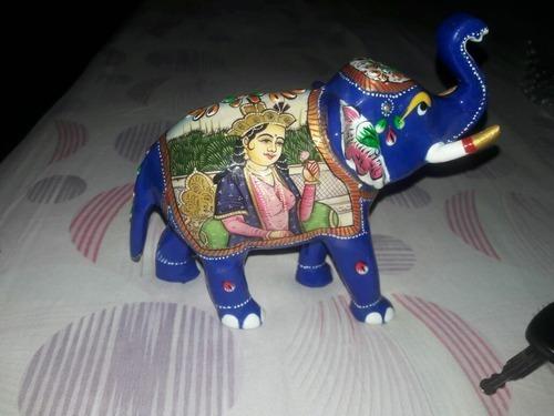 Metal Elephant Statue