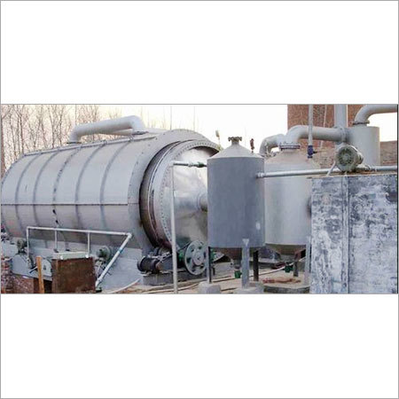 Pyrolysis Plant For Waste Tyre Plant