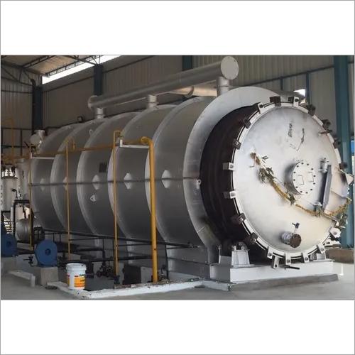 Rubber Pyrolysis Machine