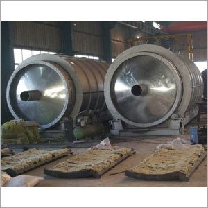 Waste Tire Recycling Oil Machine