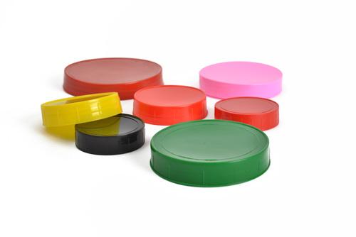 Colour Plastic Caps