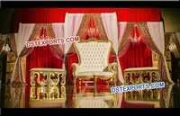 Asian Wedding Reception Throne Chair