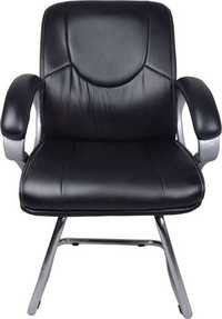 The Luctator Black Visitor Chair With Fix Frame