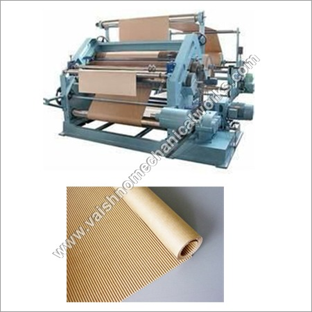 Single Face Paper Corrugation Machine