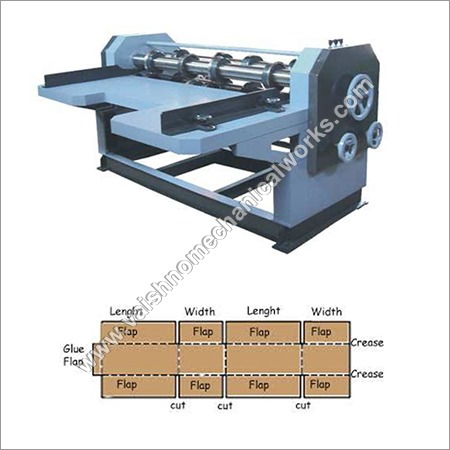 4-Bar Rotary Cutting & Creasing Machine