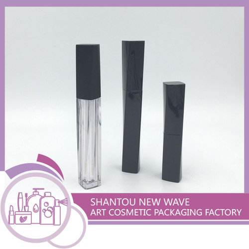 Plastic Packaging of Cosmetic Empty Lip Gloss Tube