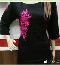 Cotton Embroidery Kurtis