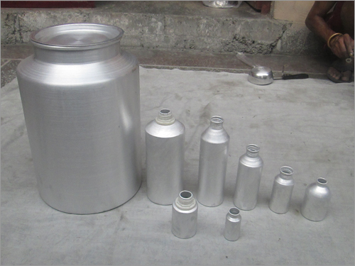 Aluminium Perfumes Bottle
