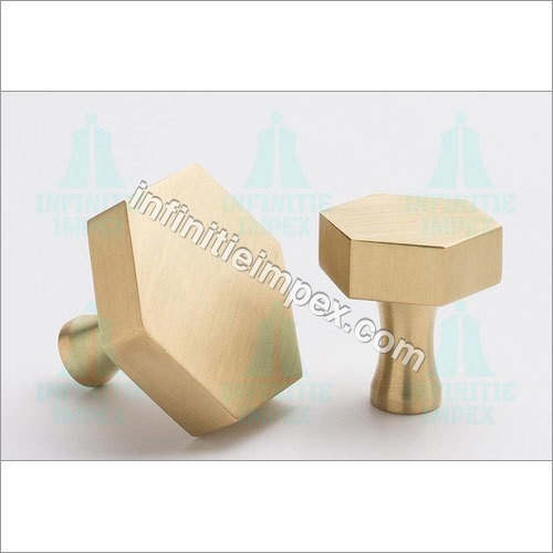 Brass Hex Table Knobs