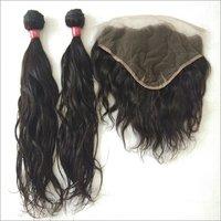 Temple Wavy Human Hair,100% Indian Temple Donated Natural Wavy Human Hair