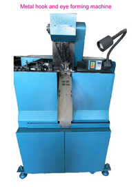 Metal Hook And Eye Forming Machine
