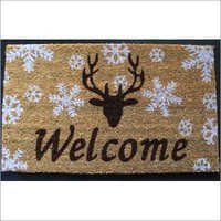 Colored Coir Door Mats