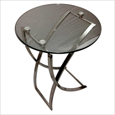 Round Folding End Table
