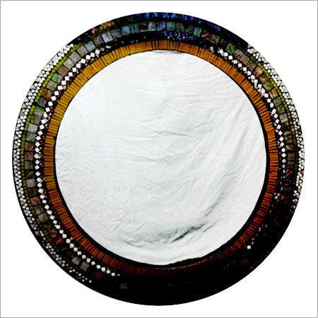 Mosaic Round Wall Hung Mirror