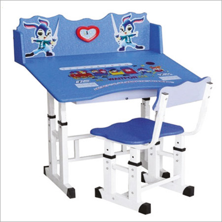 Foldable Baby Study Table Set