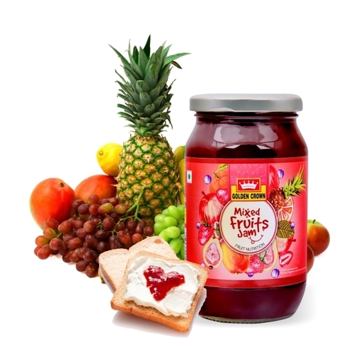 Mixed Fruit/ Orange Marmalade/ Mango/ Pineapple Jam 500gm