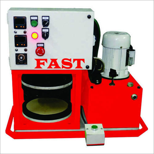 semi automatic chapati pressing machine
