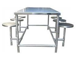 Aluminium dinning table