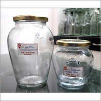 500Gms 1000Gms Ghee Glass Jars 82mm Lug