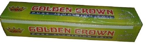 Aluminum Foil with Box G Crown
