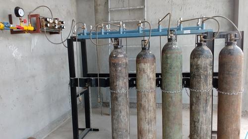 High Pressure Nitrogen Gas Manifold System