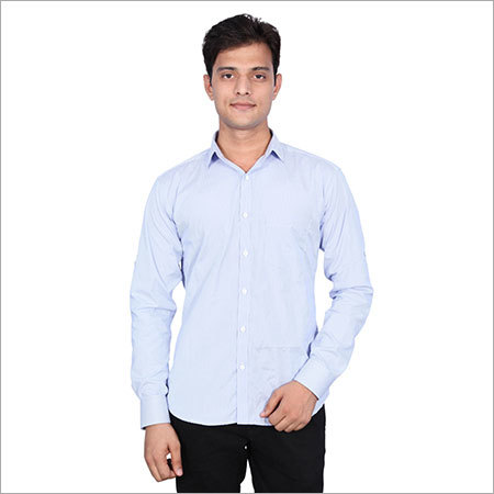Light Blue Formal Shirts