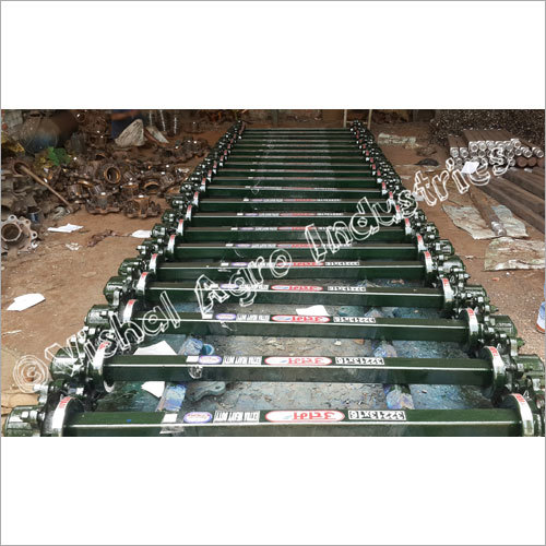 Tractor Trolley Axle 75mm