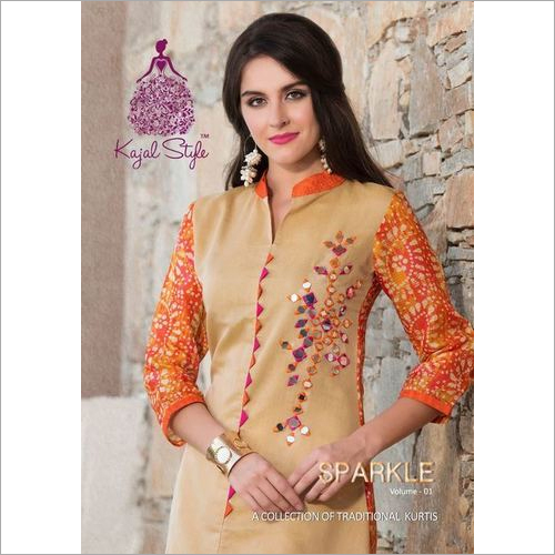 Latest Sparkle Kurtis Catalog
