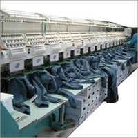 Textile Embroidery Machine