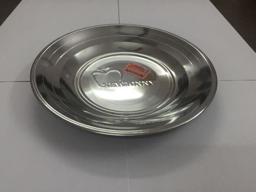 Silver Touch Soup Plate