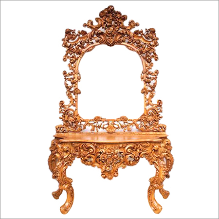 Indian Antique Hand carved Dressing Table