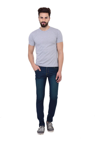 LONDON LOOKS GREEN REGULAR FIT MEN JEANS