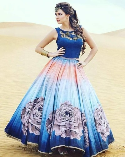 Latest Designer Party Wear Fancy Gown