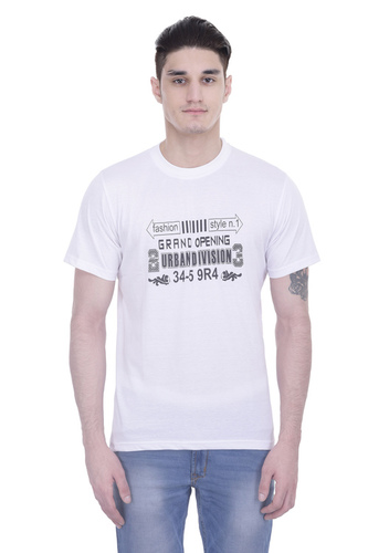 LONDON LOOKS ROUND NECK T-SHIRTS FOR MEN'S