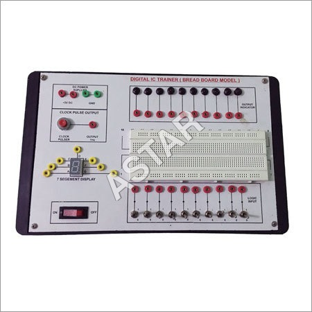 Digital IC Trainer Breadboard Model