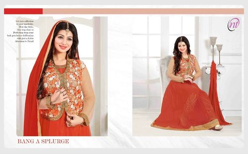 Diwali Best Price Offer Designer Fancy Party Wear Salwar Kameez Suit
