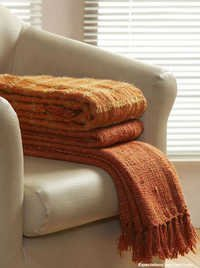 Fancy Knitted Throws