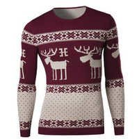 Mens Classic Pullover Sweater