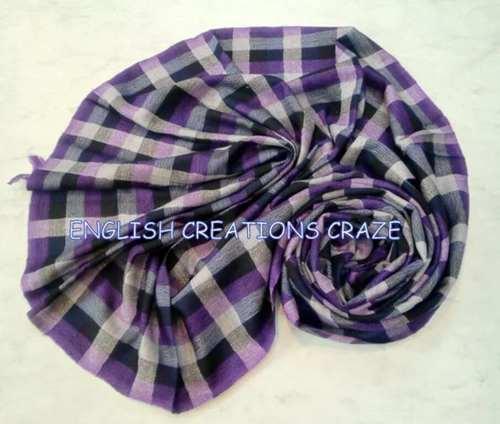 Acrylic Cotton Scarves