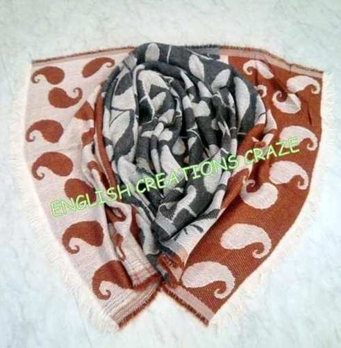 Acrylic Cotton Printed Scarves