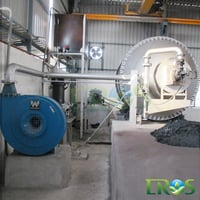 Used Lead Acid Battery Recycling Rotary Furnaces